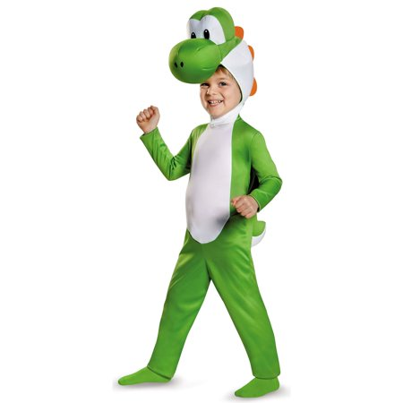 Super Mario Bros: Yoshi Toddler Costume - Super Mario Bros. Costumes For Halloween