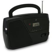 GPX AM/FM Radio, R633B, Black