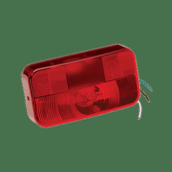 Bargman 30-92-108 Travel Trailer Tail Light w/ License