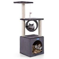 "Jaxpety 36"" Cat Tree Condo Furniture Play Toy Kitten Pet House"