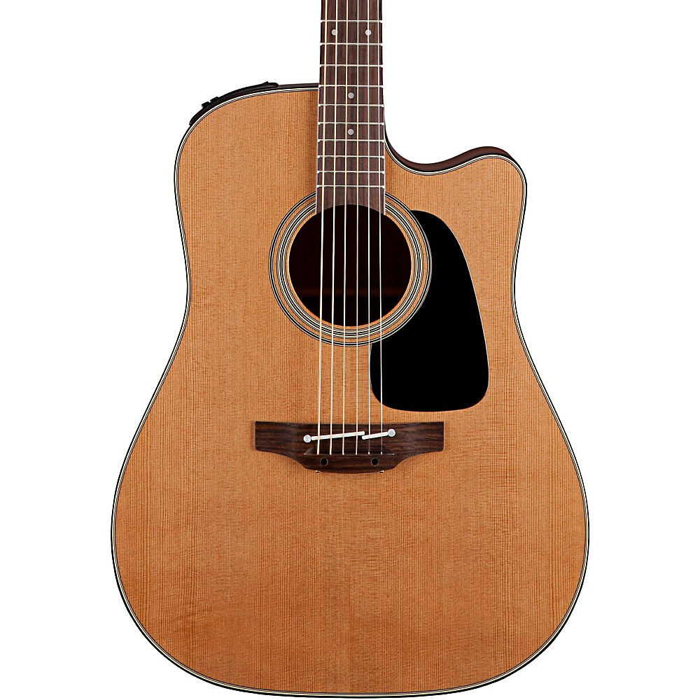 Takamine Pro Series 1 Dreadnought Cutaway Acoustic Electric Guitar with Hardshell Case