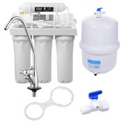 Yescom 5-Stage 50 GPD RO Water Filter System Reverse Osmosis Filtration for Home Drinking Aquarium