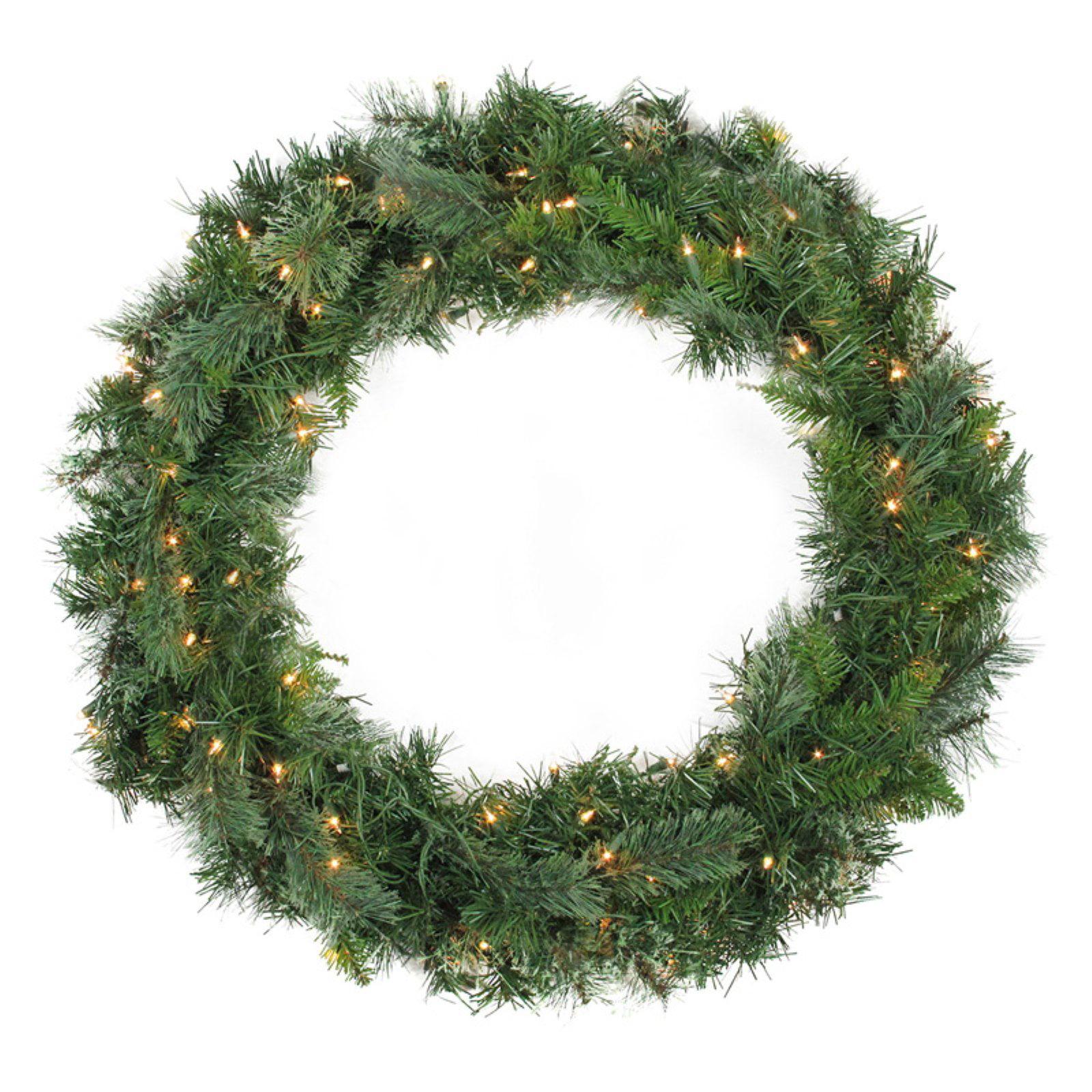 Northlight Artificial Cashmere Pine Pre Lit Christmas Wreath
