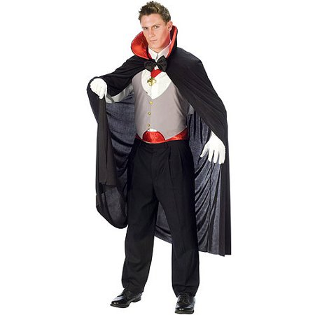Complete Vampire Adult Halloween Costume - Vampire Halloween Costumes Homemade