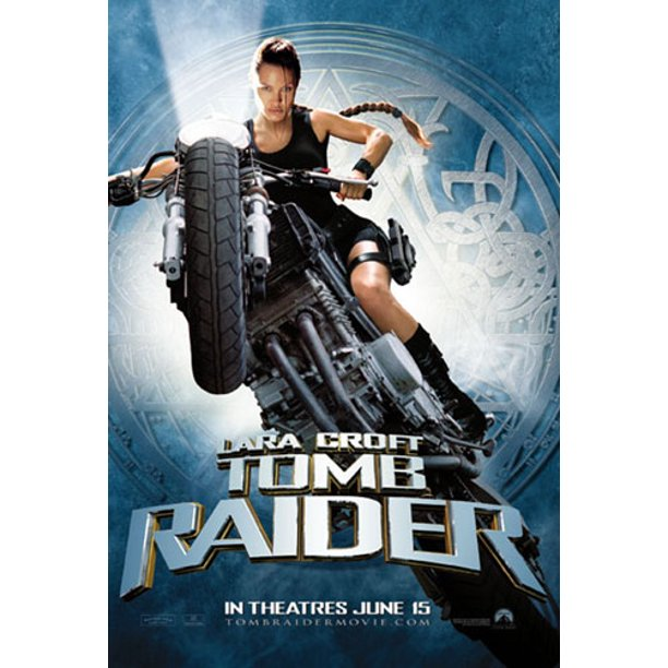 Tomb Raider Lara Croft Movie Poster Print Regular Style B
