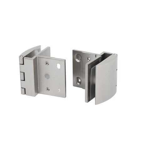 5mm 8mm Thick Wall Mounted Glass Holders Cabinet Door Hinges Clamps
