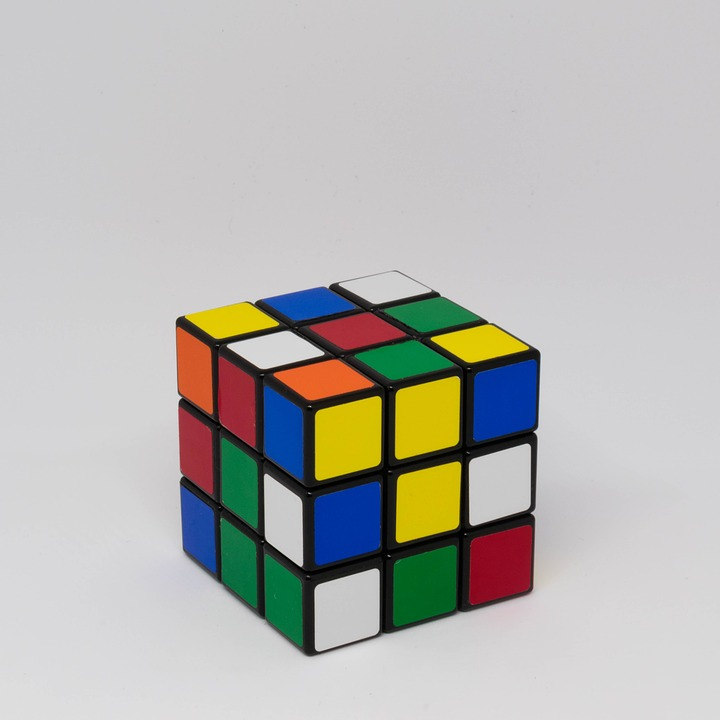 LAMINATED POSTER Game Intelligence Square Rubiks Puzzle Cube Toy Poster Print 24 x 36