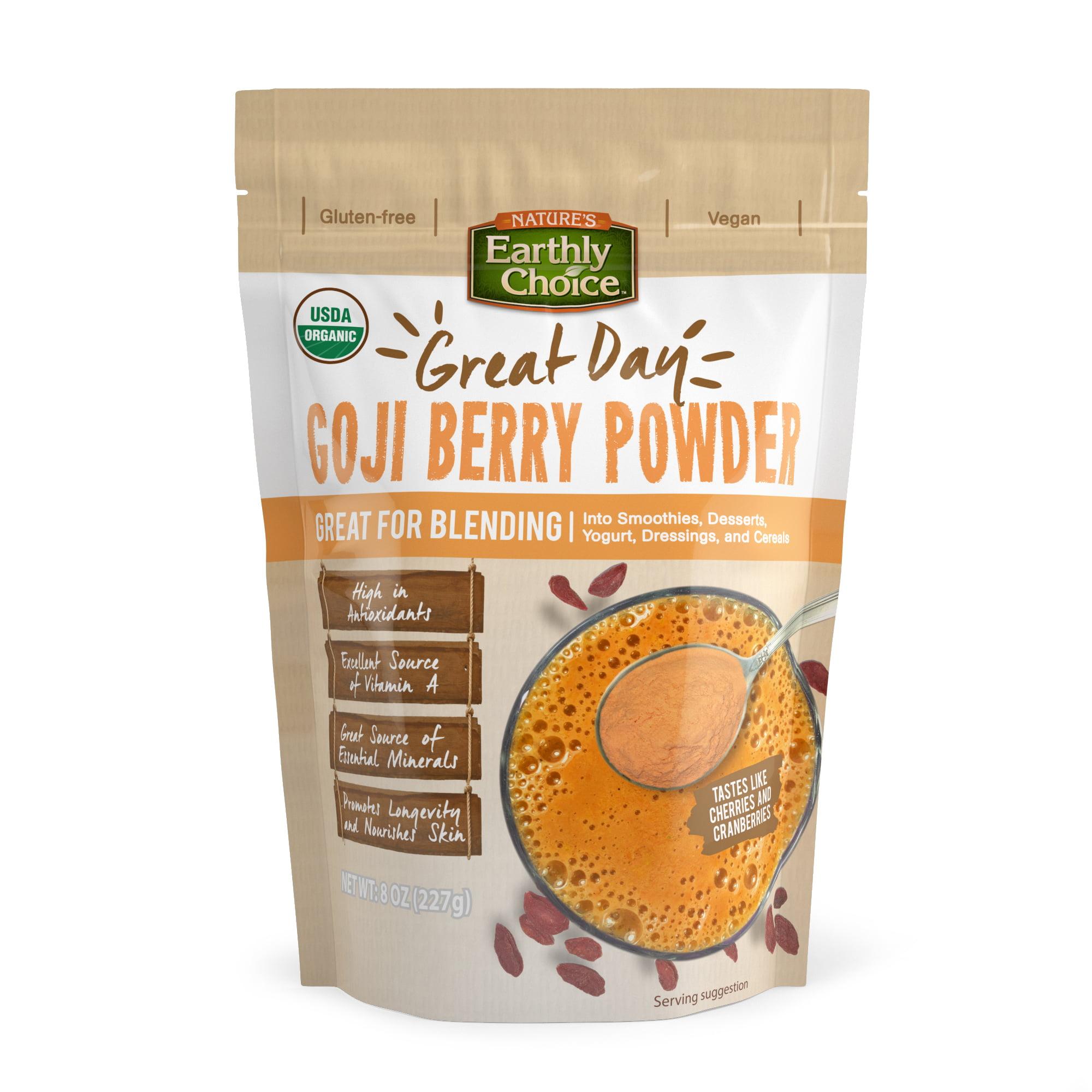 Healthy Delicious Nec Organic Goji Berry Powder Walmart Com