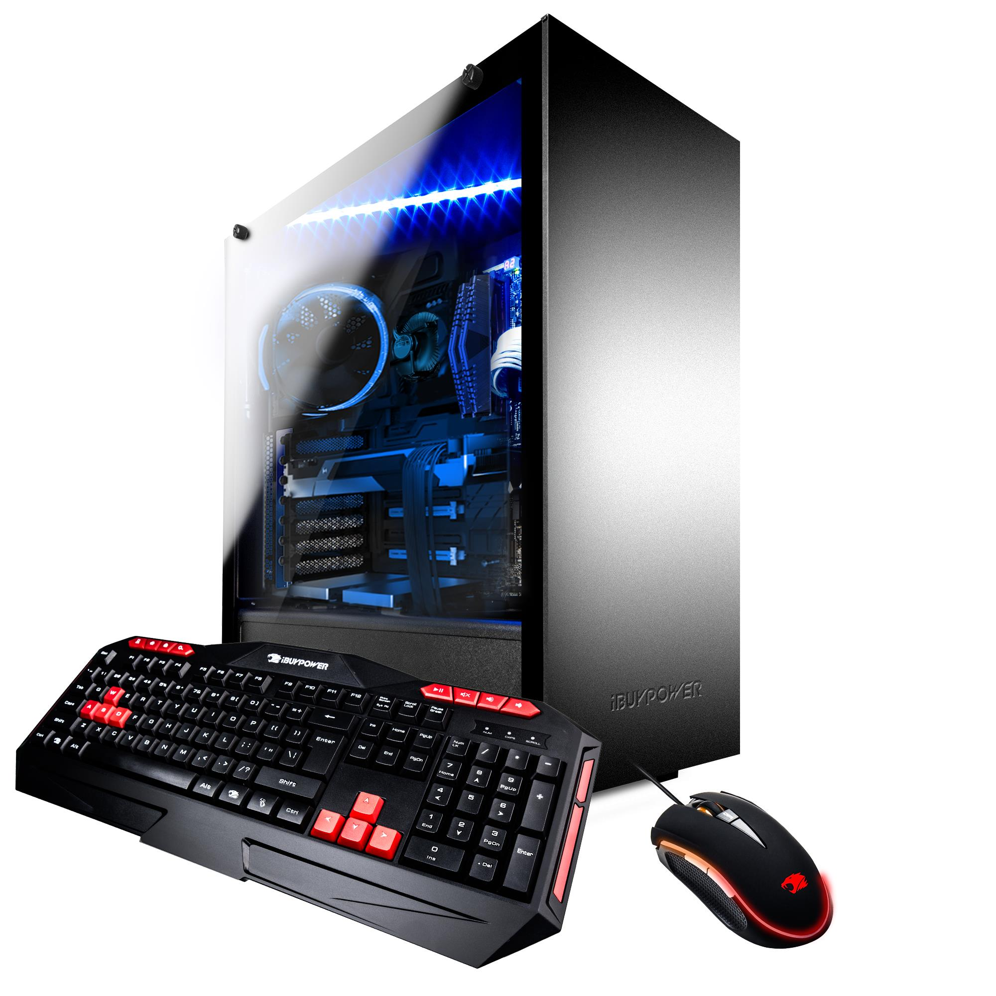 iBUYPOWER WACP8320K - Gaming Desktop PC - AMD FX 8320 - 8GB DDR3 Memory - NVIDIA GeForce GT710 1GB - 1TB Hard Drive - WACP8320K