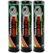 Carquest Grease and Lube All-Purpose Lithium Grease, 3 Units Of 3 oz. Mini Tubes