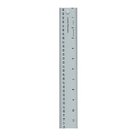 Fun Express - Ludwig Precision Aluminum Straight Edge - Basic Supplies - Drawing - Misc Drawing - 1 - Aluminum Straight Edge