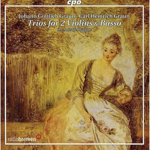 Trios For 2 Violins & Basso
