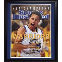 20x24 Frame - Stephen Curry Golden State Warriors SI Cover