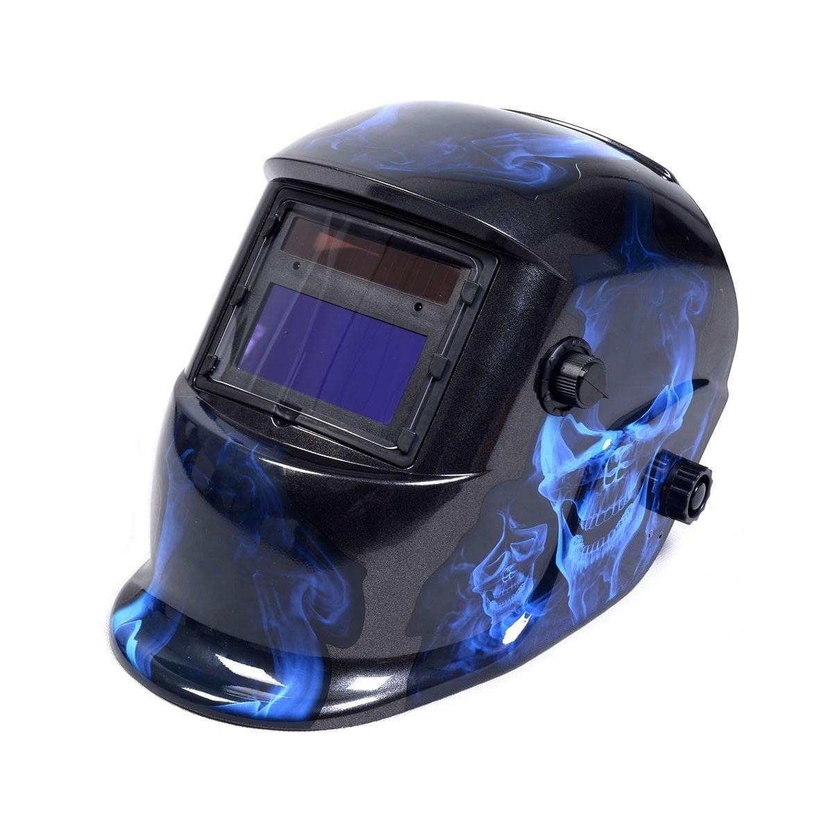 Tangkula Auto-darkening Solar Welder Mask Welding Helmet Skull Pattern - Walmart.com