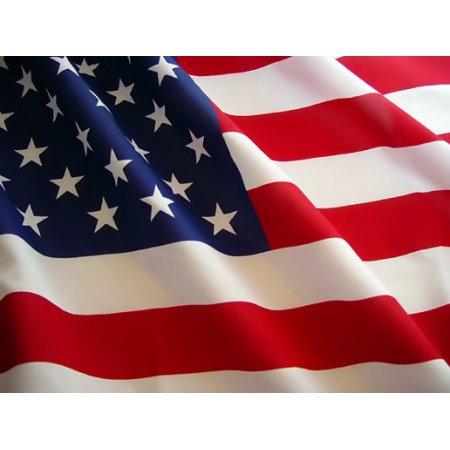 - G128 - 3x5 Polyester US Flag USA America Stars Stripes United States Brass Grommets