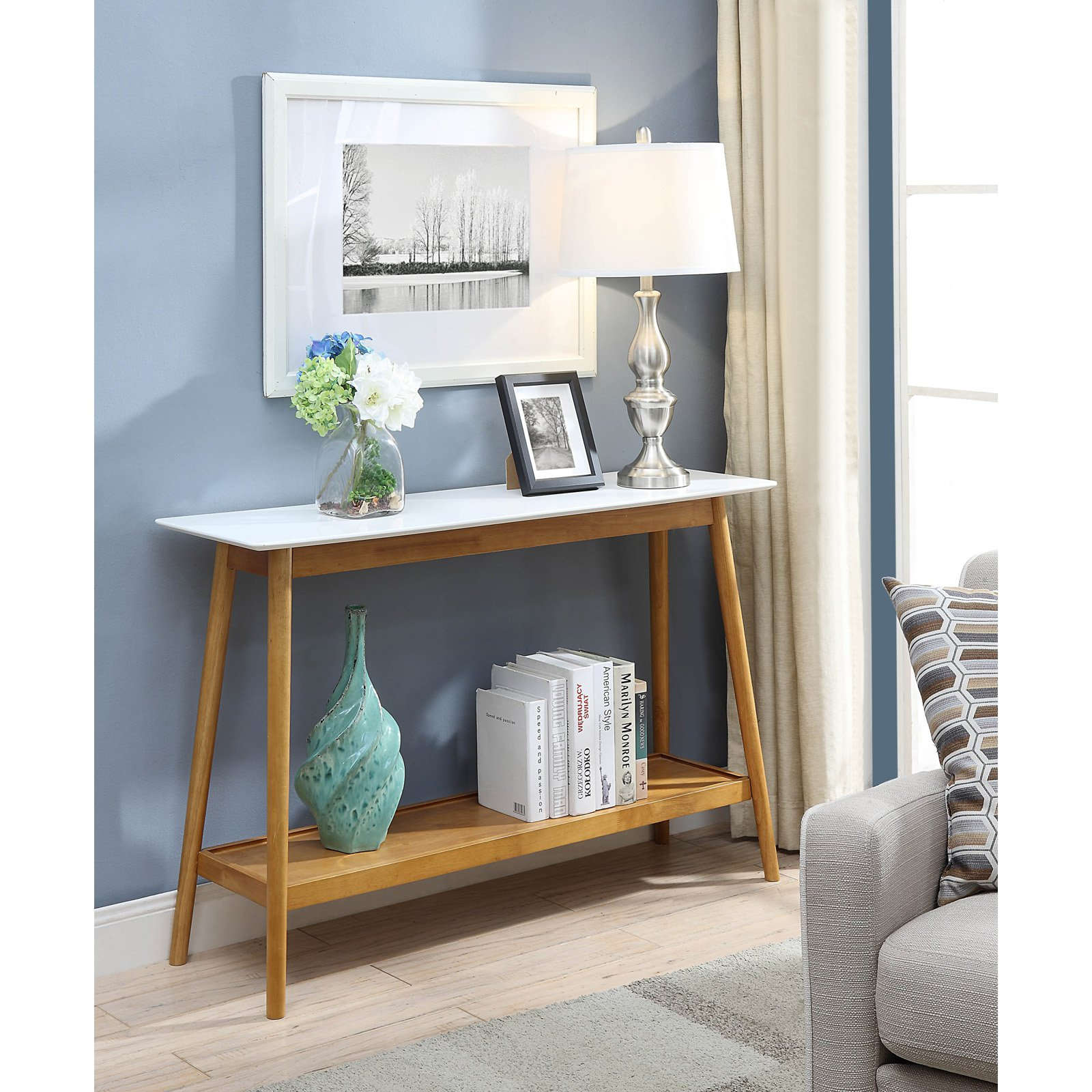 Convenience Concepts Oslo Console Table by Convenience Concepts