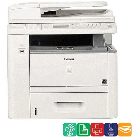 Canon imageCLASS D1370 Black and White Laser Multifunction Printer Copier Scanner Fax Machine by