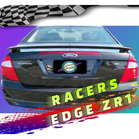 RacersEdgeZR1 2010-2012 Ford Fusion Custom Style ABS Spoilers RE603N-3 - Ford Probe Spoiler