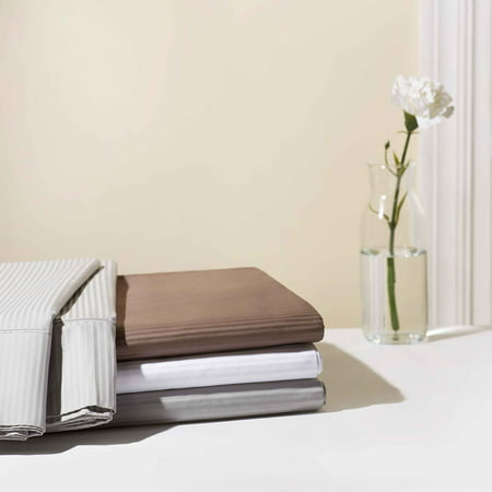 Hotel Style 600 Thread Count Striped Bedding Sheet Collection