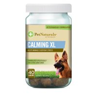 Pet Naturals of Vermont Calming XL for Dogs 75lbs and up, Behavior Support Supplement, 40 Bite-Sized Chews