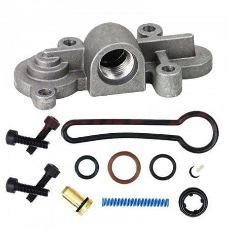 2003-2007 Ford 6.0L Powerstroke Fuel Pressure Regulator Blue Spring Upgrade Kit ()