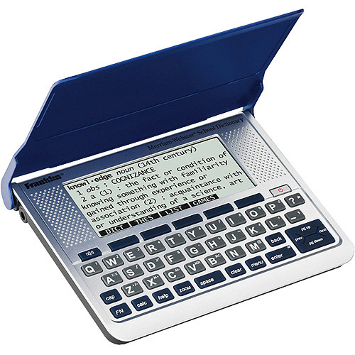 Franklin Electronic Merriam-Webster Speaking Dictionary And Thesaurus
