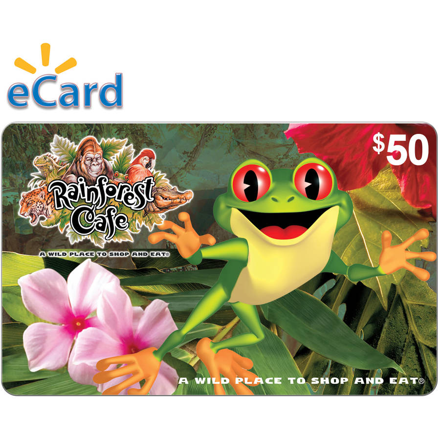 Rainforest Cafe $50 Card (Email Delivery)