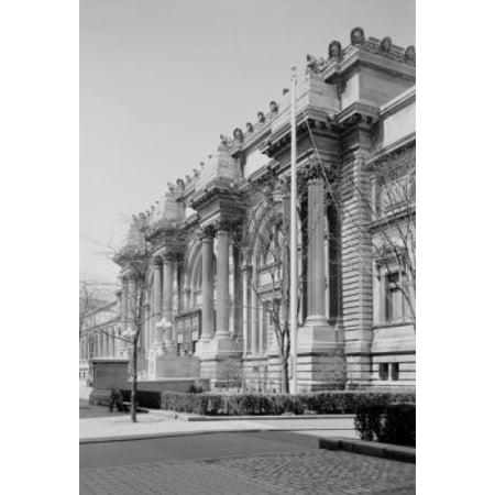 USA New York State New York City Fifth Avenue  Metropolitan Museum of Art Poster Print