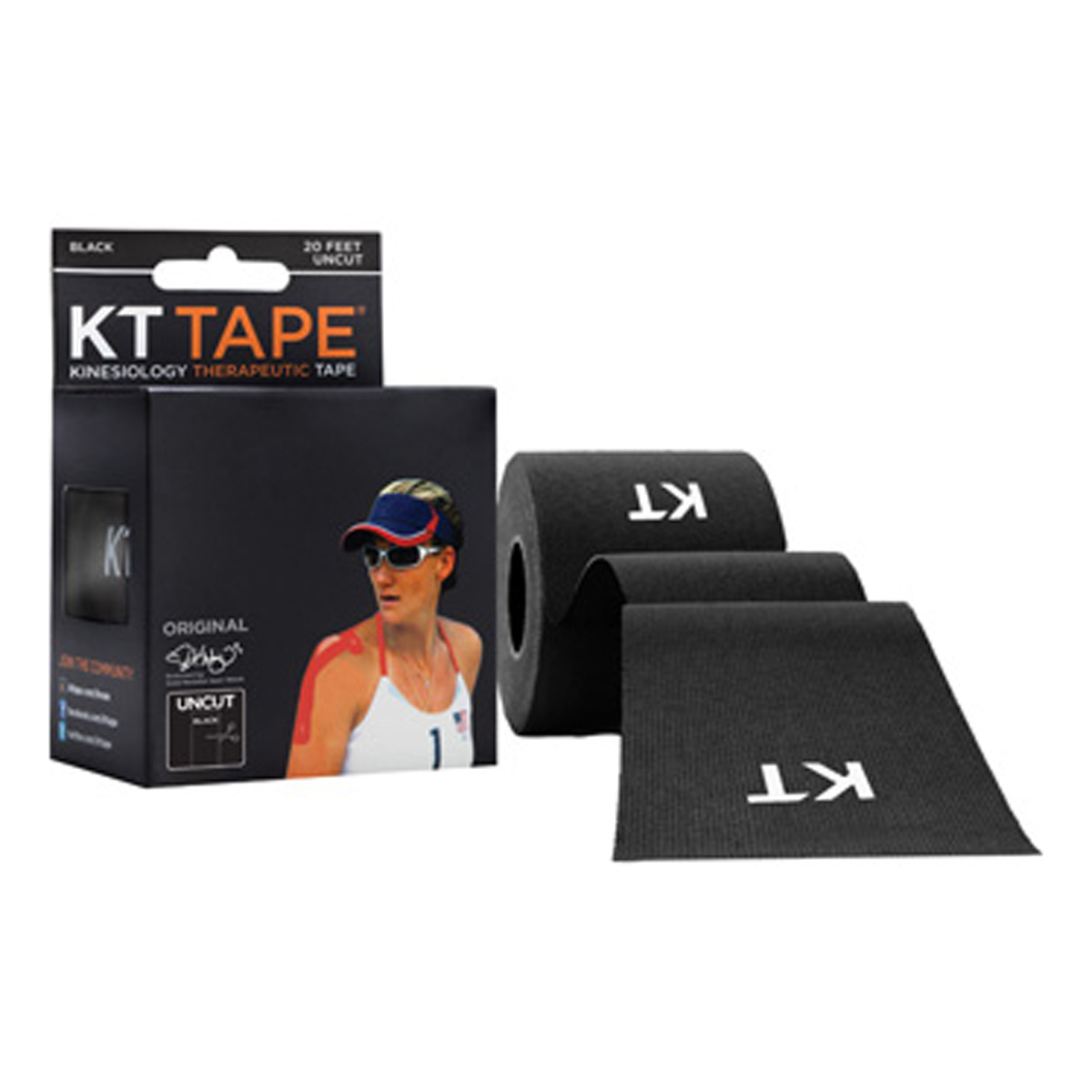 KT Tape Strong Elastic Kinesiology Therapeutic Athletic Tape - Un-Cut