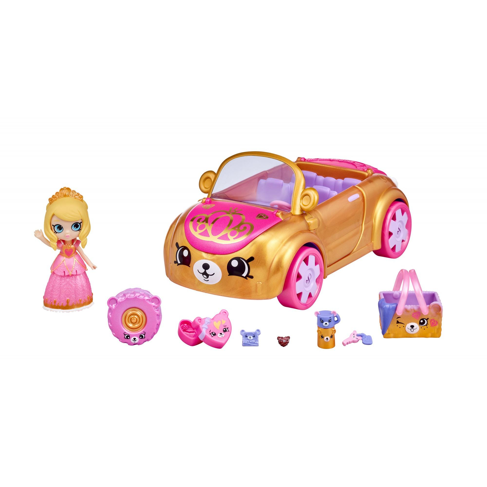 Shopkins Happy Places Doll House Line, Royal Convertible