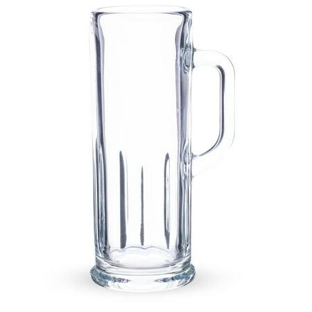 KIT- Libbey Frankfurt Paneled Beer Mug Sampler Glass - 4 oz - 4 Pack