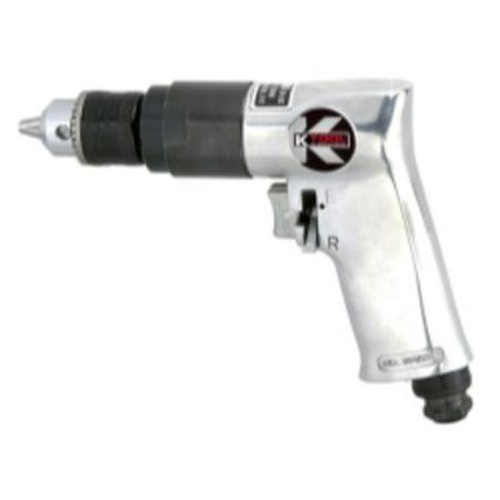 K Tool International SM-705-01 Air Drill Reversible 3/8