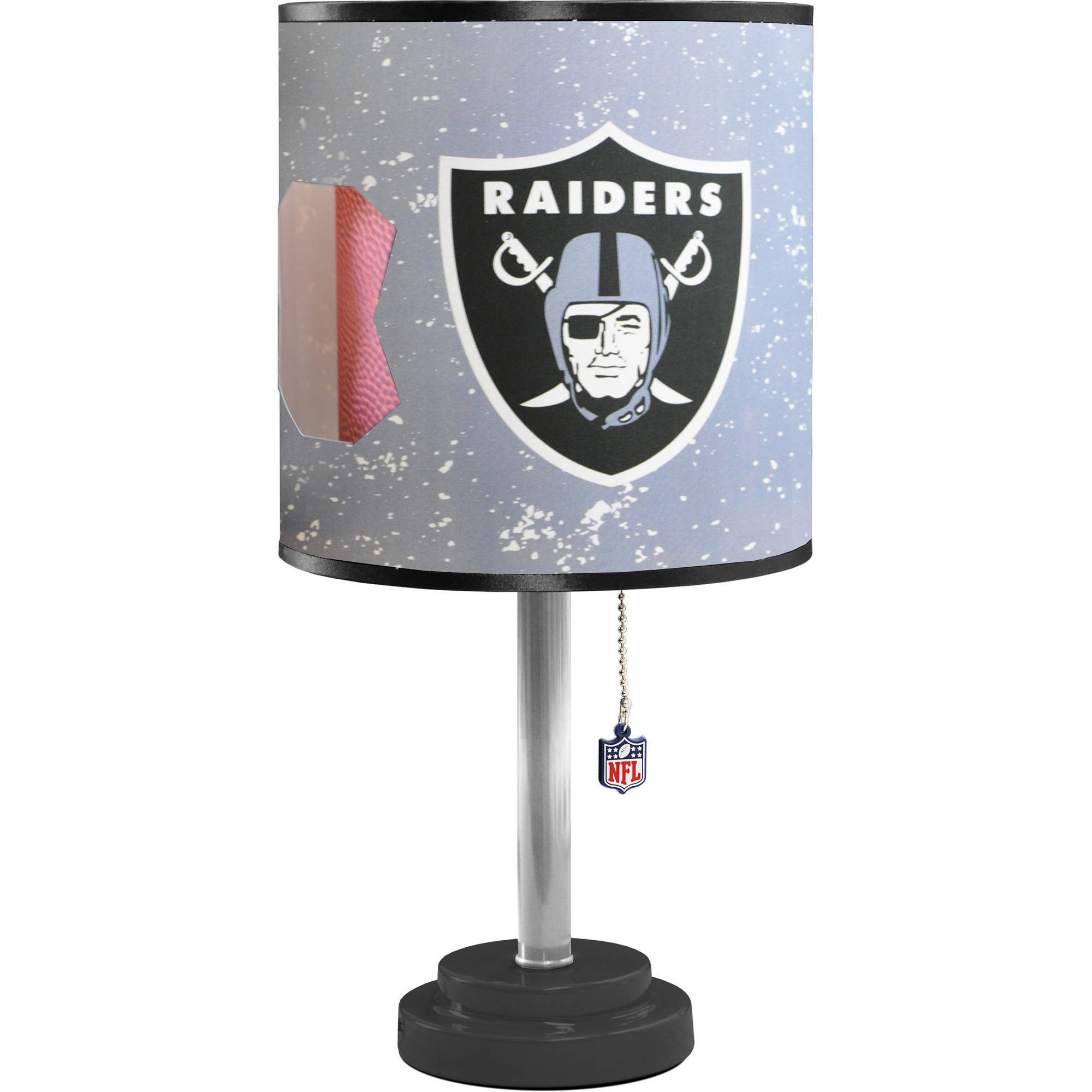 Oakland Raiders Die-Cut Table Lamp