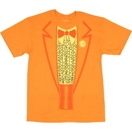 Dumb and Dumber Lloyd T Shirt - Dumb And Dumber Orange Tuxedo