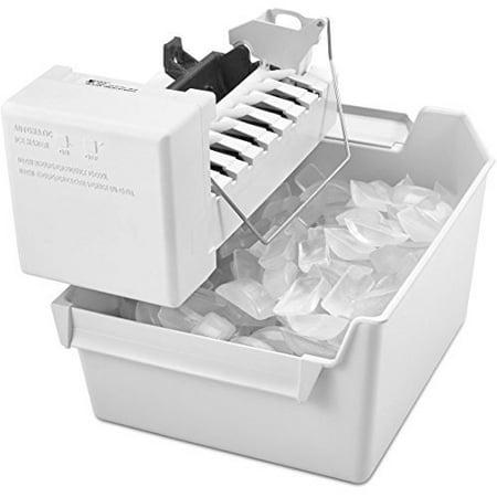 Whirlpool White EZ Connect Refrigerator Ice Maker Kit ECKMFEZ2 EZ Machine Other Standard