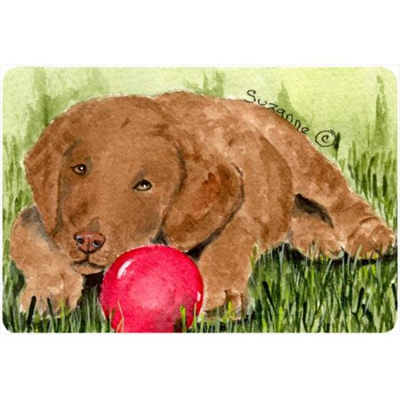 Curly Coated Retriever Mouse pad, hot pad, or trivet - Hot Cunny