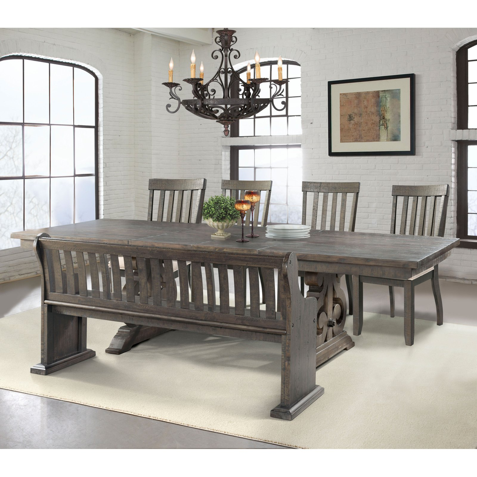 Picket House Stanford 6 Piece Dining Table Set