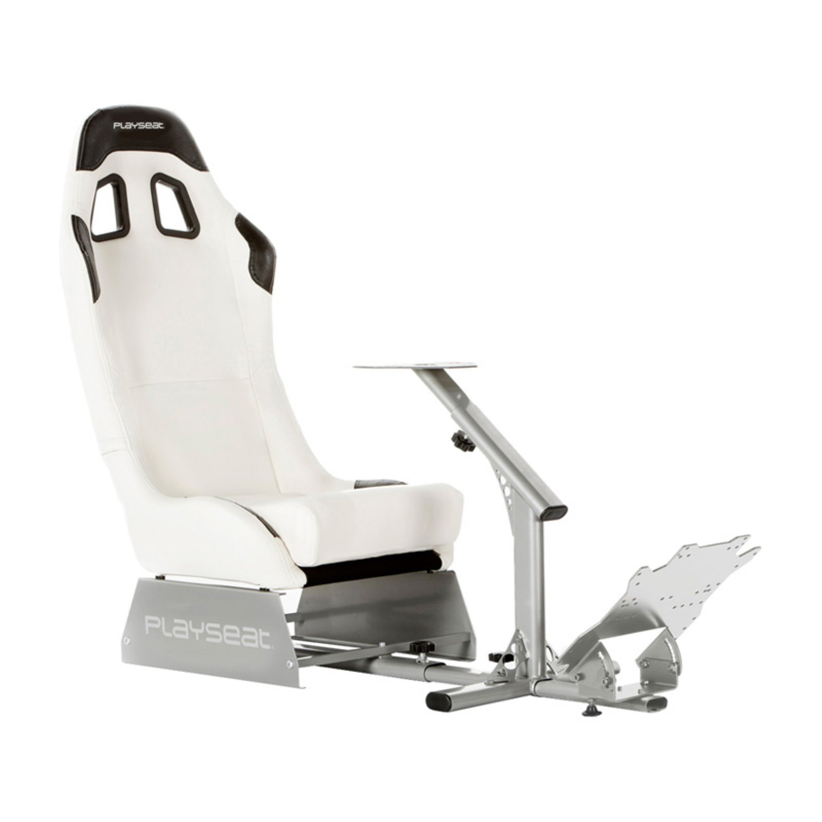 Playseat Evolution Gaming Chair - White with Silver Frame
