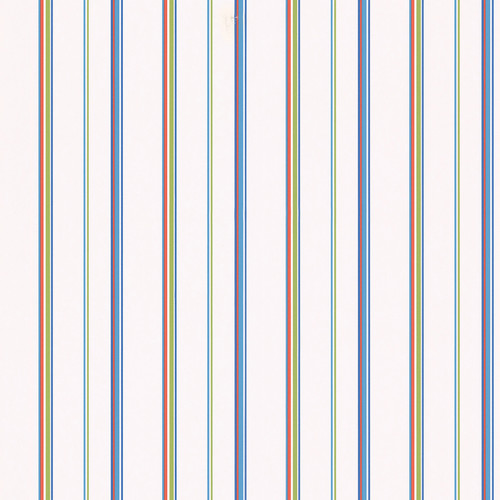 Brewster Home Fashions Kids World Barnstable 33' x 20.5'' Stripe Wallpaper