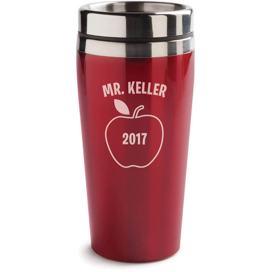 Special Teacher Personalized Red Coffee Travel Mug - 16 oz