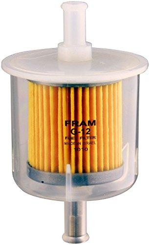 "GKI GF68PL 1//4/"" Plastic Inline Gas//Fuel Filter fits Fram G1 Wix 33031 Napa 3031"
