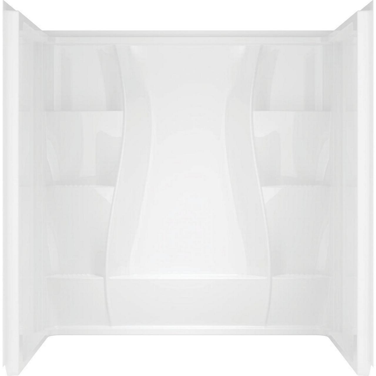 ASB 40104 3-Piece Shower Wall Set, 32 in L x 60 in W x 74...