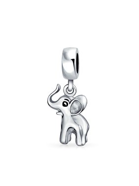 480699663b0 Product Image Good Luck Elephant Trunk Up Dangle Bead Charm For Women For  Teens 925 Sterling Silver Fits