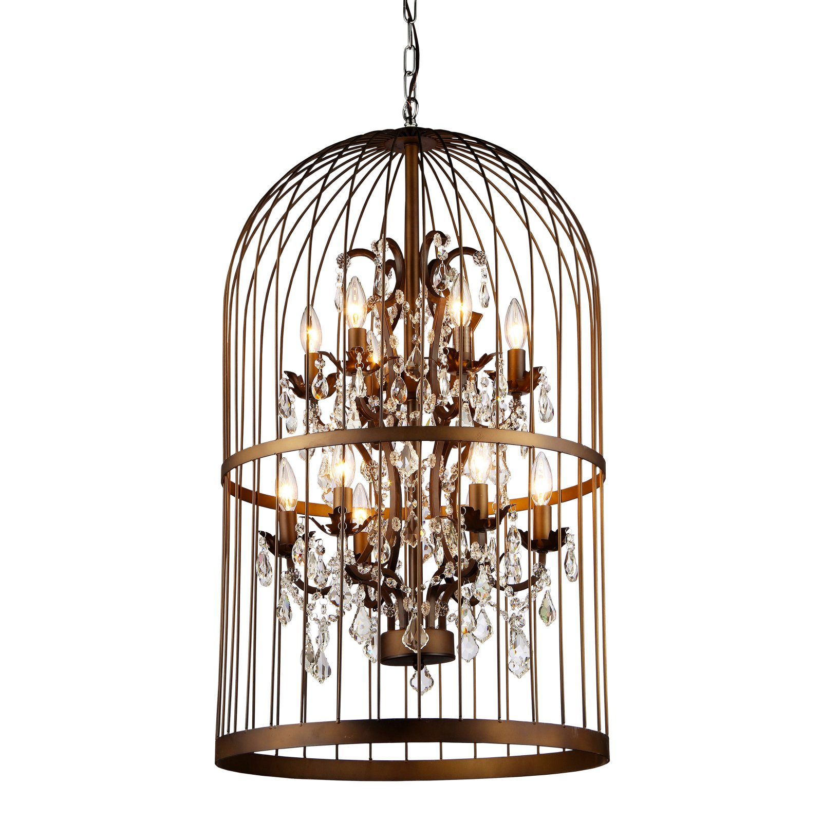 Warehouse of Tiffany Rinee III Cage Chandelier RL8058D