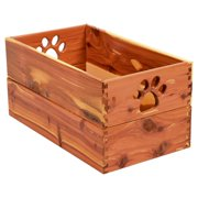 Dynamic Accents Trixie Storage Solid Wood Crate