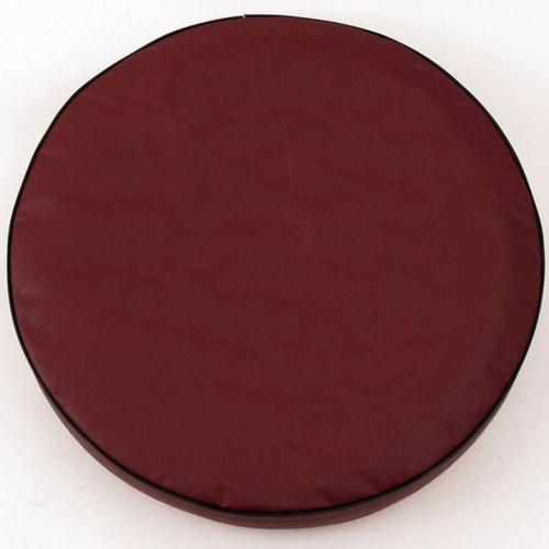 Tire Cover by Holland Bar Stool - Plain Burgundy, 30'' x 10''