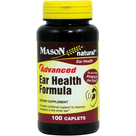 Mason natural Advanced Ear Health Formula Dietary Supplement, 100 count
