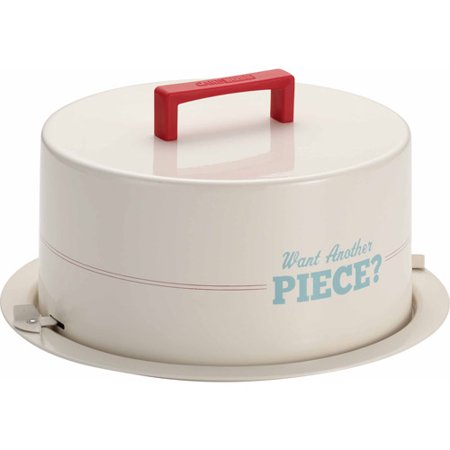 Cake Boss Serveware Metal Cake Carrier,