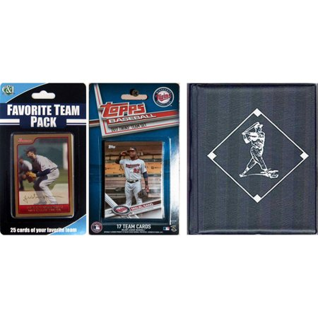 Sports Prayer Card - C & I Collectables MLB Minnesota Twins Licensed 2017 Topps Team Set and Favorite Player Trading Cards Plus Storage Album