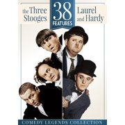 38 Features: The Three Stooges & Laurel and Hardy by Generic